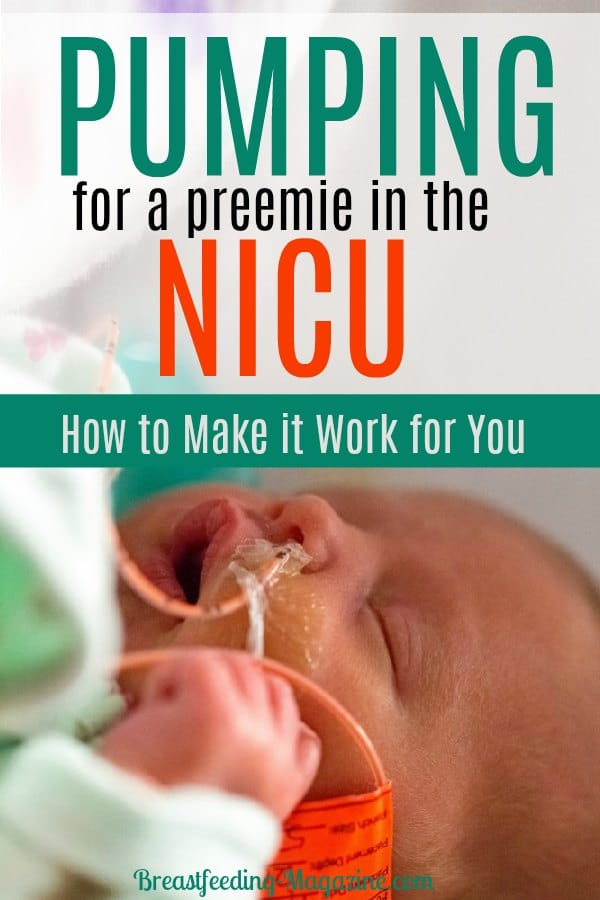 Pumping for a Preemie in the NICU