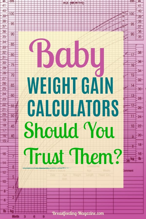 Baby Weight Gain Calculators - Should You Trust Them?