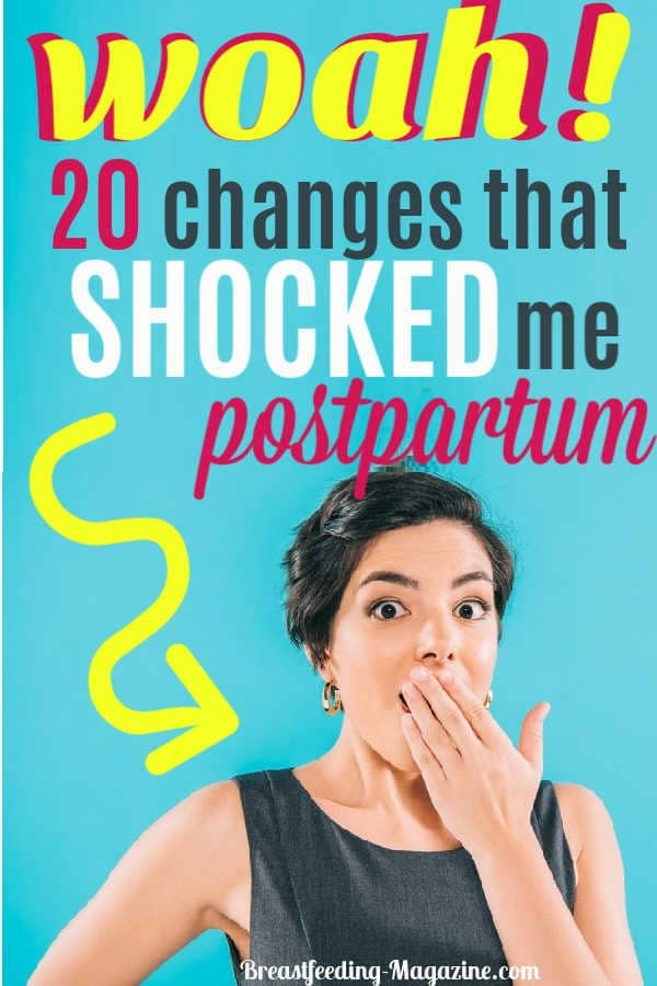 What Shocked Me Postpartum