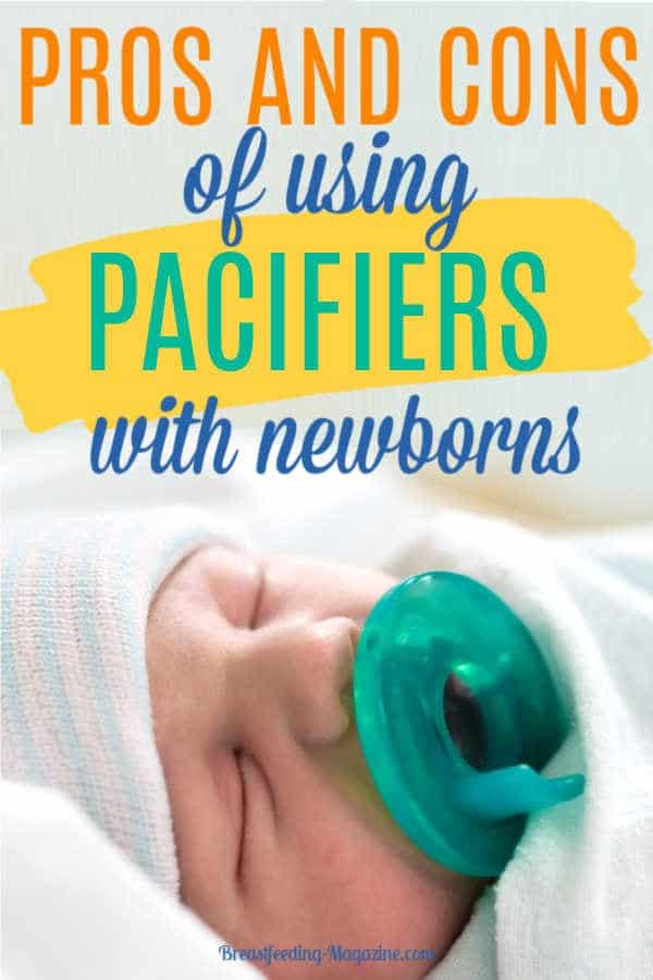 Pros and Cons of Using Pacifiers