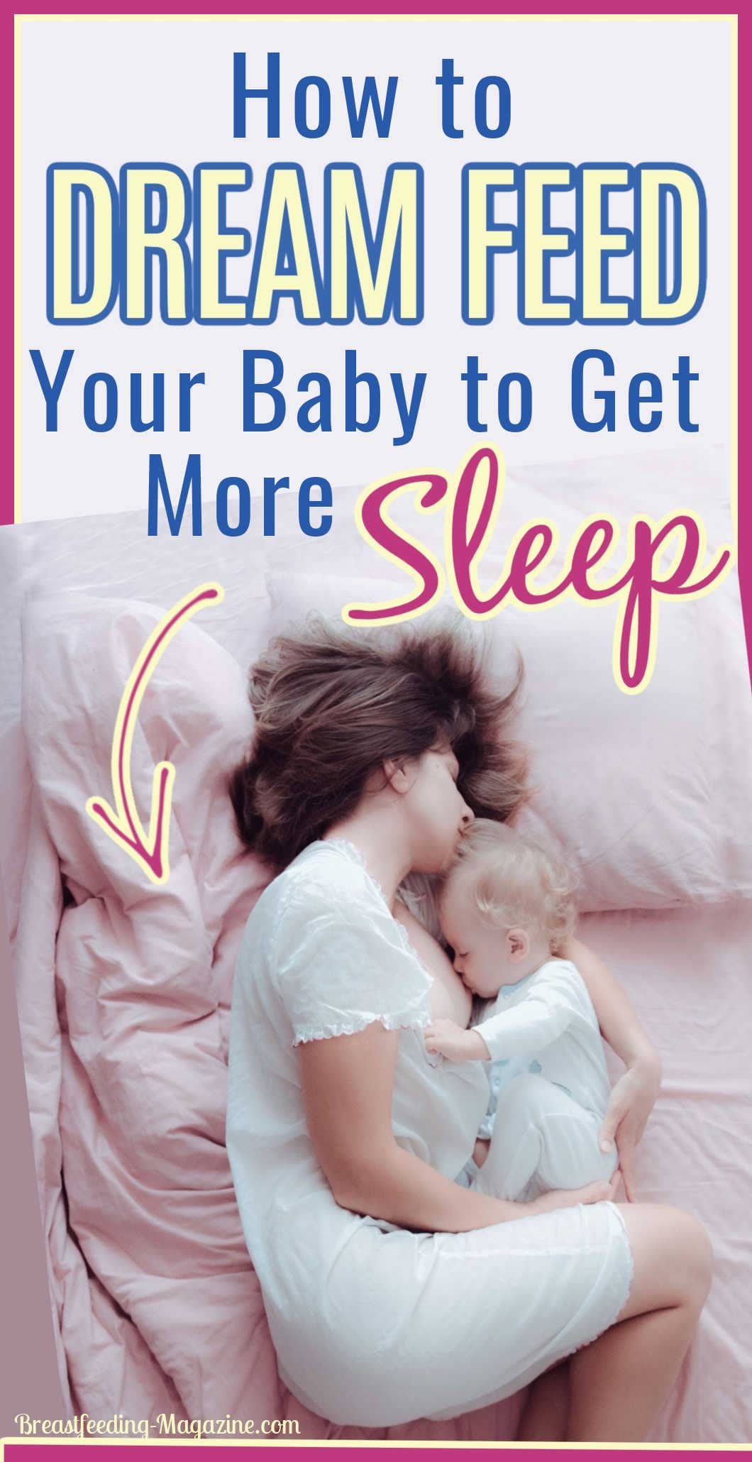 How to Dream Feed Your Baby