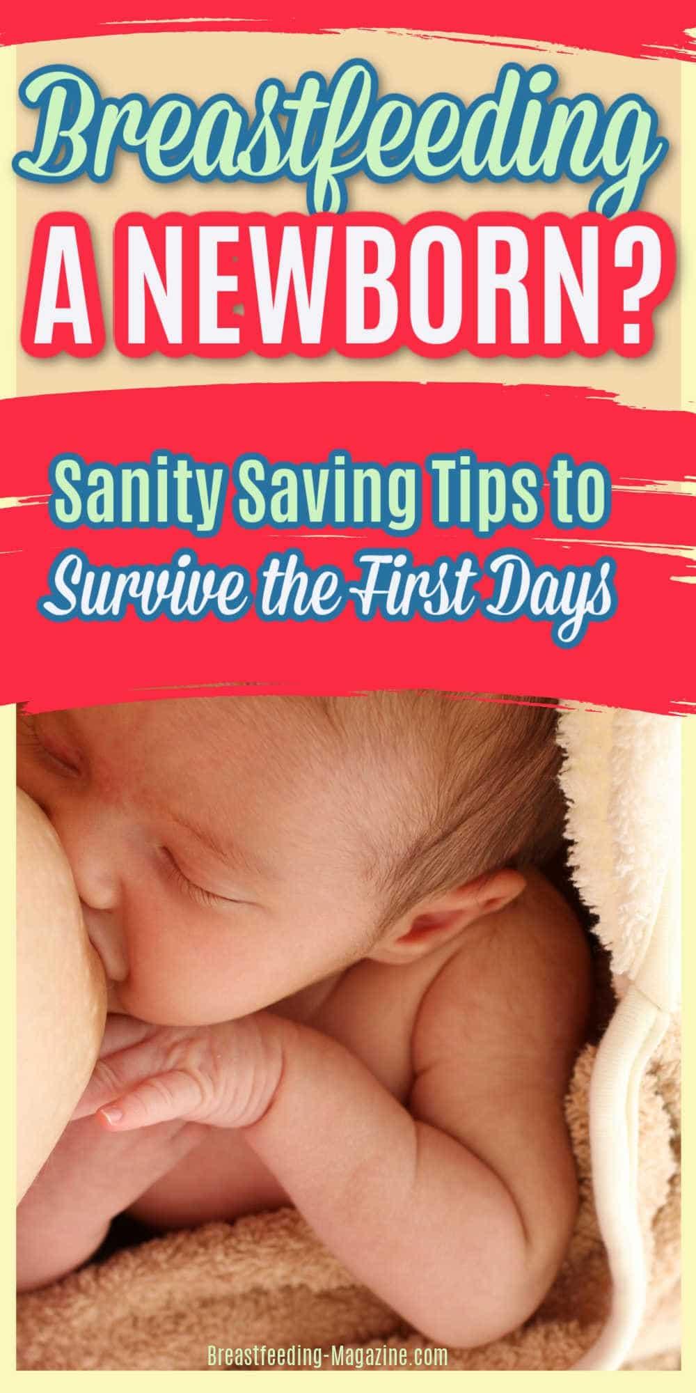 Breastfeeding a Newborn