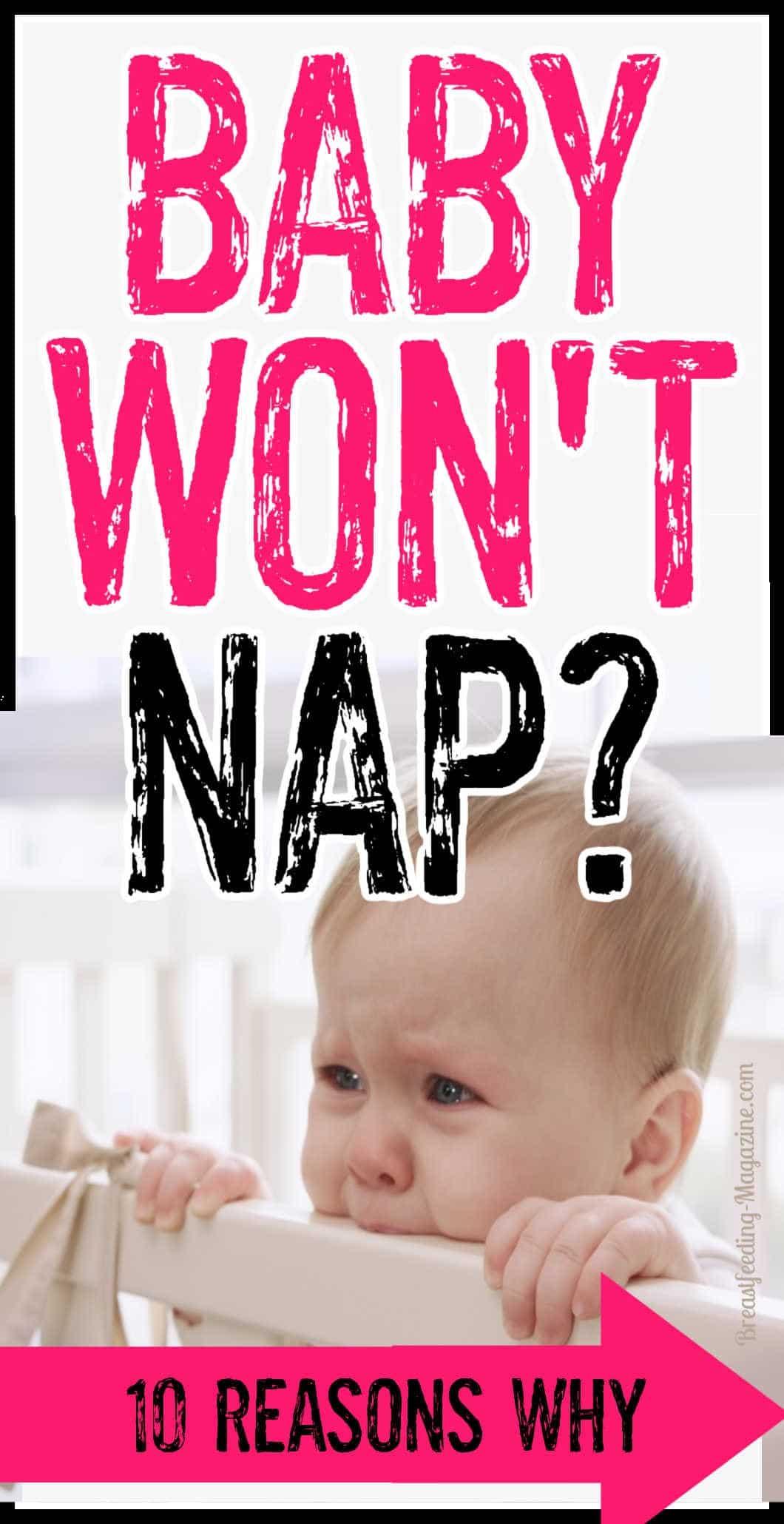 10 Common Reasons a Baby Won't Sleep