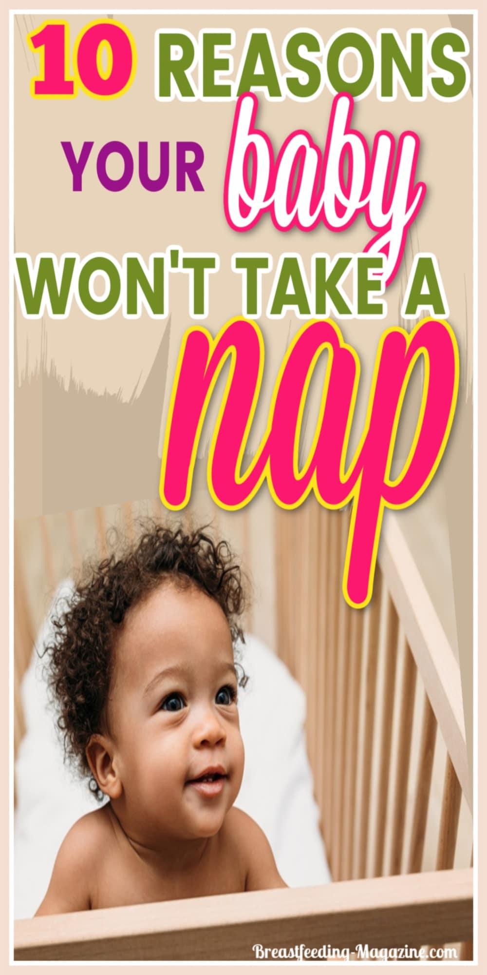Reasons Baby Won't Nap